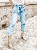 JEAN MOM TAILLE HAUTE  BOBBY