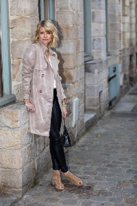 TRENCH ORI TAUPE