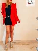 BLAZER POEMA ROUGE