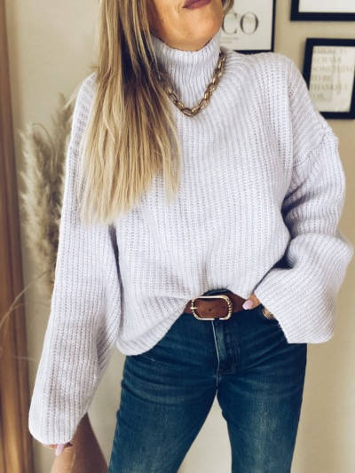 PULL MAILLE KRISTY LILAS