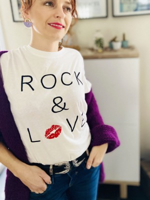 T SHIRT ROCK LOVE