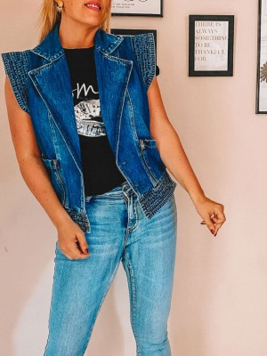 VESTE  JEAN WONDERFUL